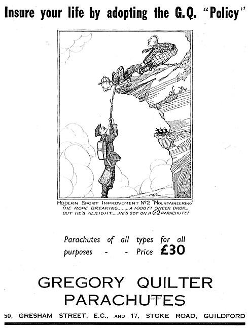 Gregory Quilter Parachutes - GQ Parachutes