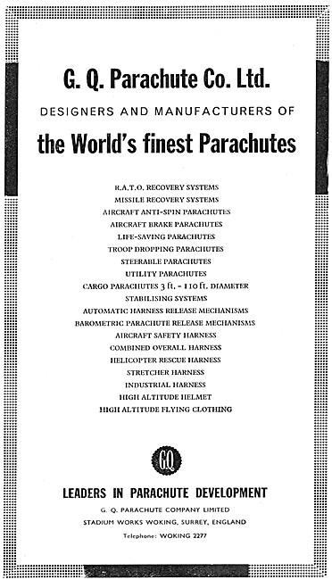 GQ Parachutes