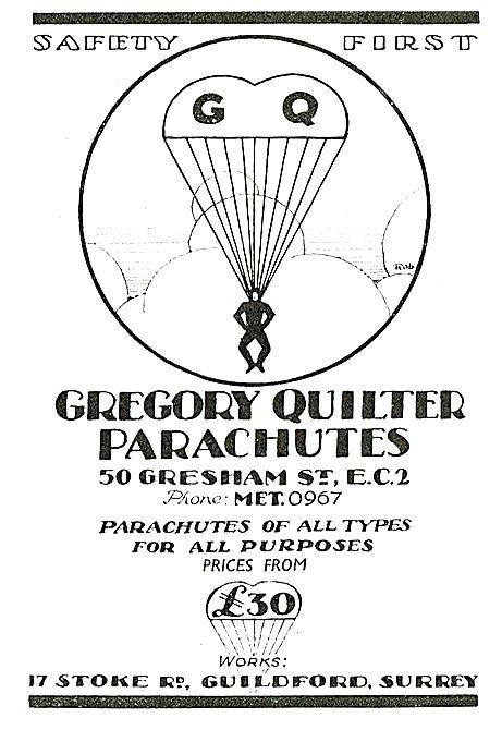 GQ Parachutes Safety First
