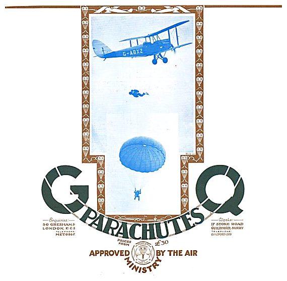 GQ Parachutes  G-ABXZ