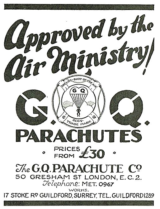 Gregory Quilter Parachutes