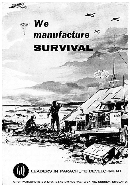 GQ Parachute - We Manufacture Survival