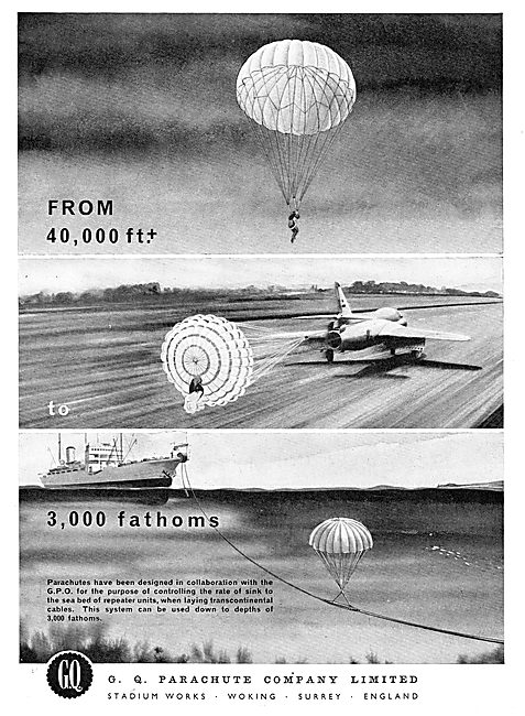 GQ Parachute - From 40,000 Ft To 3,000 Fathoms