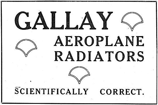 Gallay Aeroplane Engine Radiators