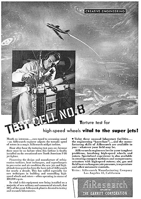 AiResearch Aerospace Products 1948