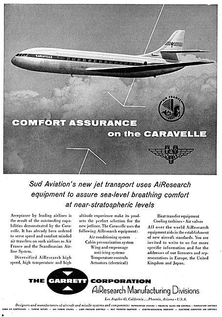 Garrett AiResearch Aircraft Equipment