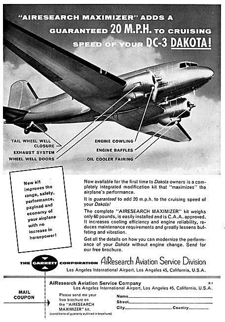 Garrett AiResearch DC3 Maximizer