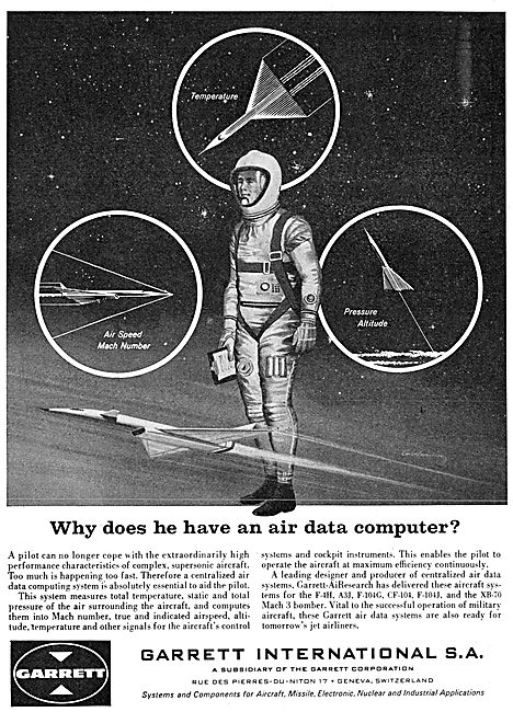 Garrett AiResearch Aircraft Systems - Air Data Computer