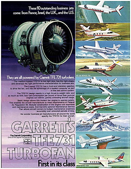 Garrett TFE731 Turbofan