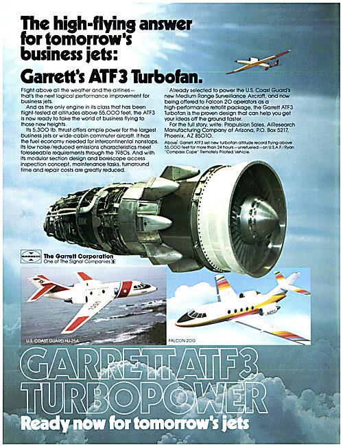 Garrett ATF3 Turbofan