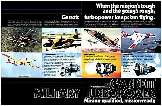 Garrett Military Aero Engines 1978