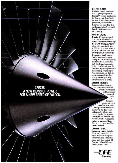 CFE738 Aero Engine