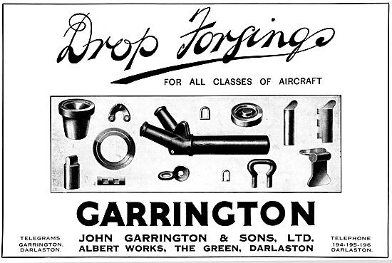 Garringtons Drop Forgings