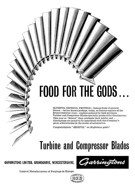 Garringtons Forgings For Gas Turbine Blades