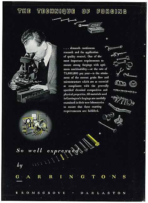 Garringtons Precision Forgings