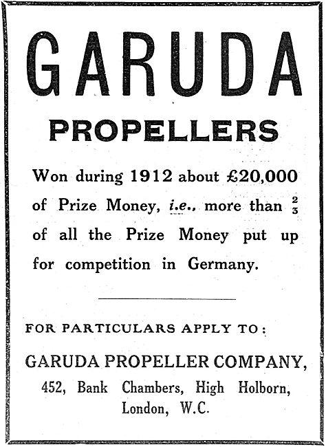 Garuda Propellers 1912