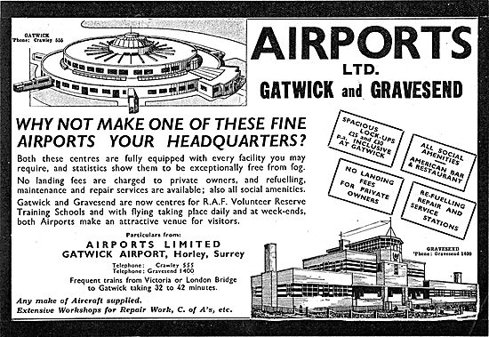 Airports Ltd: Gatwick & Gravesend