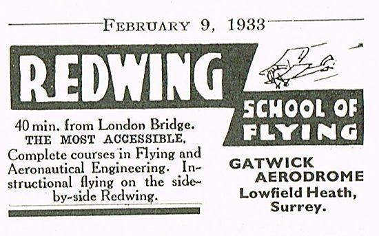 Redwing School Of Flying