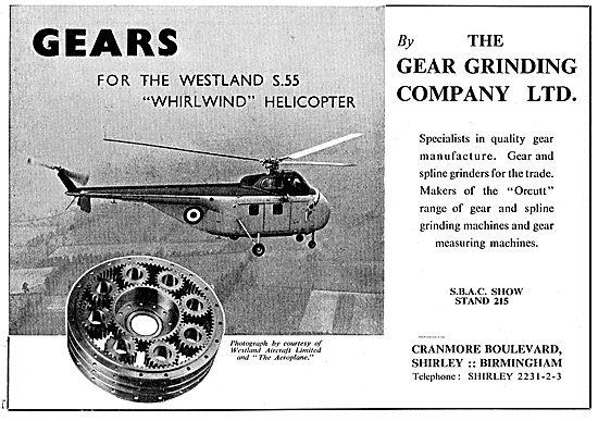 The Gear Grinding Company. Gear & Spline Grinders For Aviation