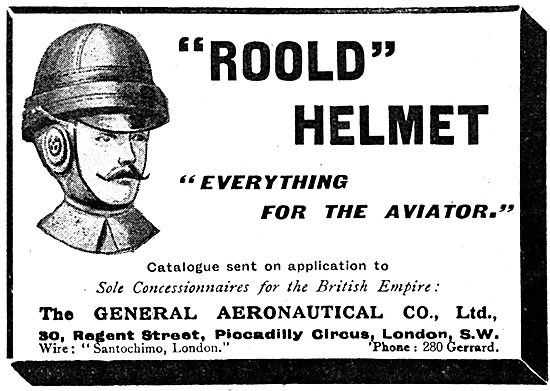 The General Aeronautical Co - Roold Helmets