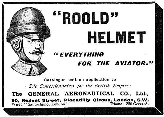 The General Aeronautical Co - Roold Helmets