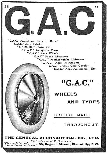 The General Aeronautical Comapny. GAC Aircraft Parts Stockists