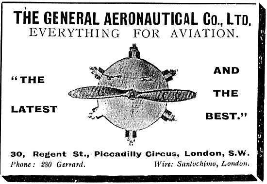 The General Aeronautical Co Ltd - Everthing For Aviation