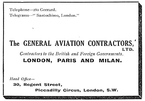 The General Aviation Contractors Ltd