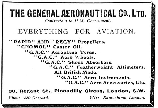 General Aeronautical Co - Everything For Aviation