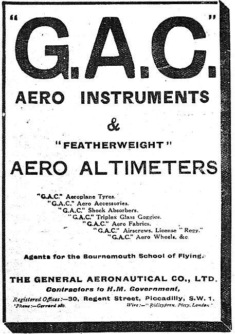 The General Aeronautical Co: Aero Instruments