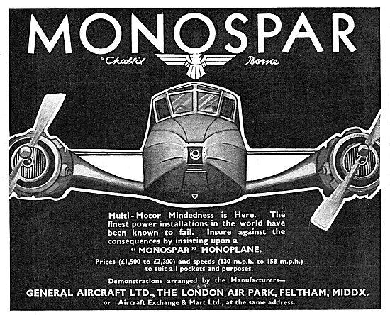 General Aircraft Monospar
