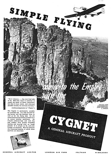 General Aircraft Cygnet - Simple Flying