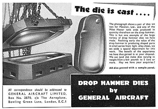 General Aircraft - Drop Hammer Dies