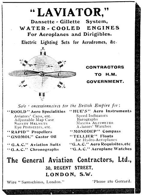 General Aviation Contractors -  Laviator Dansette-Gillette Engine