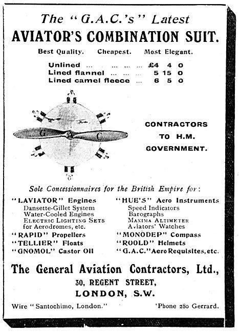 General Aviation Contractors - Aviator's Combination Suit