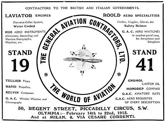 General Aviation Contractors - GAC World Of Aviation