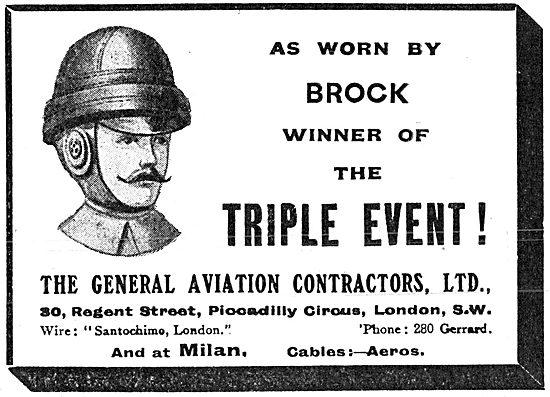 G.A.C. General Aviation Contractors. Roold Helmet