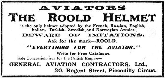 General Aviation Contractors For The Roold Aviators Helmet