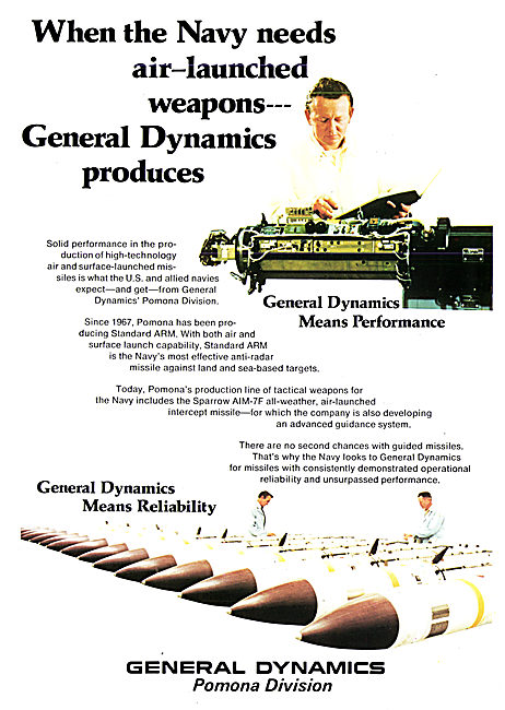 General Dynamics Sparrow Missile