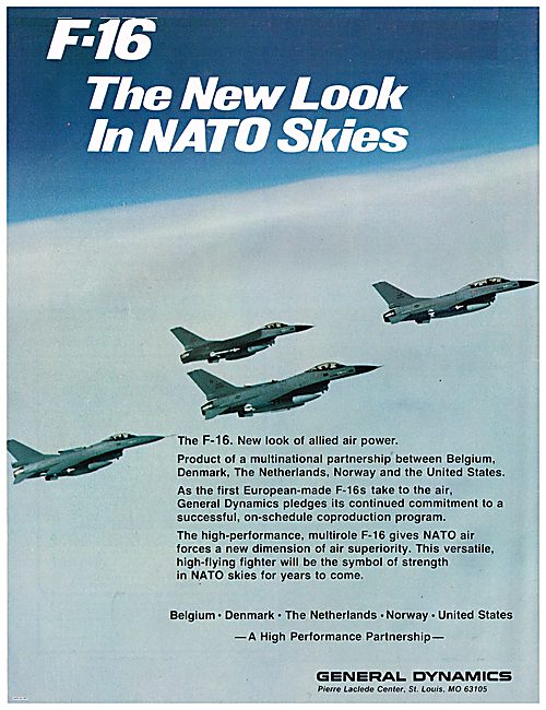 General Dynamics F-16 - New Look Of Allied Air Power