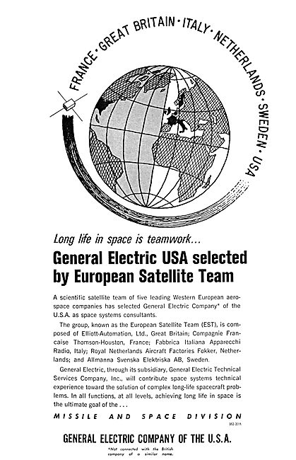 General Electric - European Satellite Team