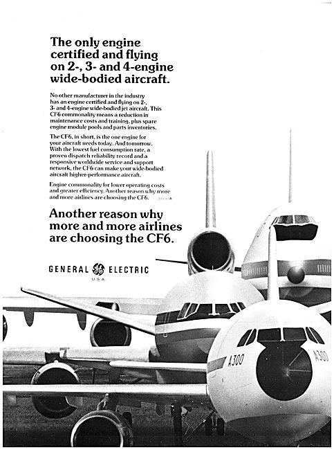 General Electric GE CF6