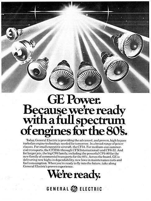 General Electric CFM56 GE CF34