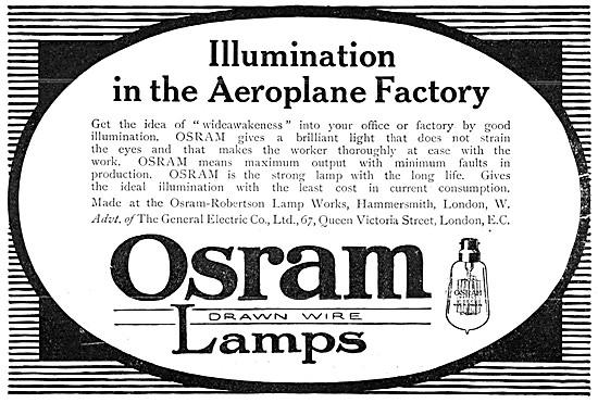 General Electric OSRAM Lamps - Osram-Robertson Lamp Works
