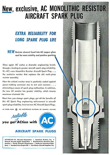 AC Spark Plugs - Monolithic Resistor Spark Plug