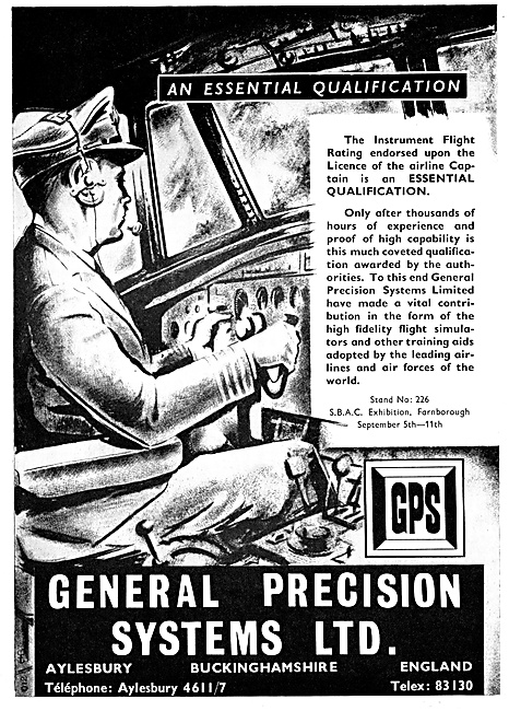 General Precision Systems. G.P.S. Flight Simulators