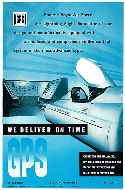 General Precision Systems GPS Flight Simulators 1961