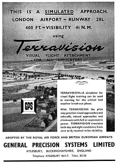 General Precision Systems : GPS Terravision Flight Training Aid