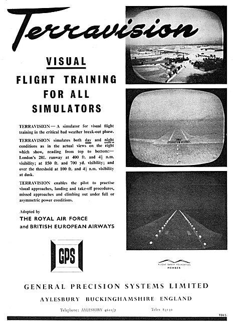 General Precision Systems : GPS Terravision Flight Simulation