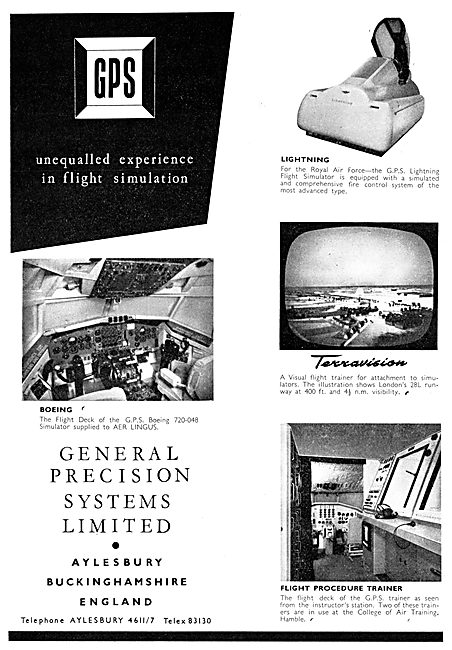 General Precision Systems : GPS Flight Simulators